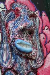 Portrait, 30x60 cm, 2019, technique mixte