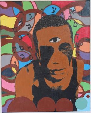 Mindfulness, 80x100 cm, 2019, acrylique