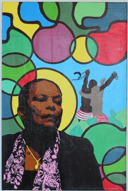 Liberdade, 60x90 cm, 2019, acrylique